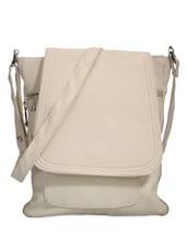 Chic White Sling Bag - Bags Craze