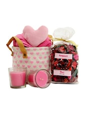 Heart Rose Petal Pouch & C&les - Gifts By Meeta