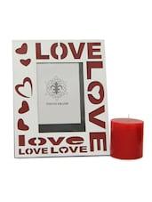 Love Photo Frame & C&le - Gifts By Meeta