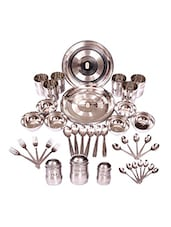 24 Pc Dinner Set+ 18 Pc Cutlery+ 3 Pc Tea Sugar Coffee - Elegante'