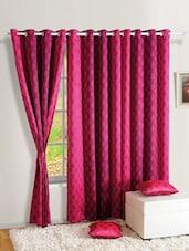 Premium Printed Curtain With Eyelets - SWAYAM