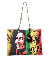 Bob Marley & Lion Print Tote Handbag - The House Of Tara