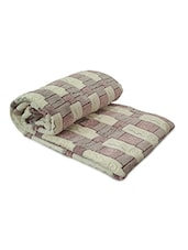 Multi Color Polyester Double Blanket - By