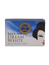 Natural Color, White Herbal Soap With Collagen  For Anti-Aging With Natural Extracts - By