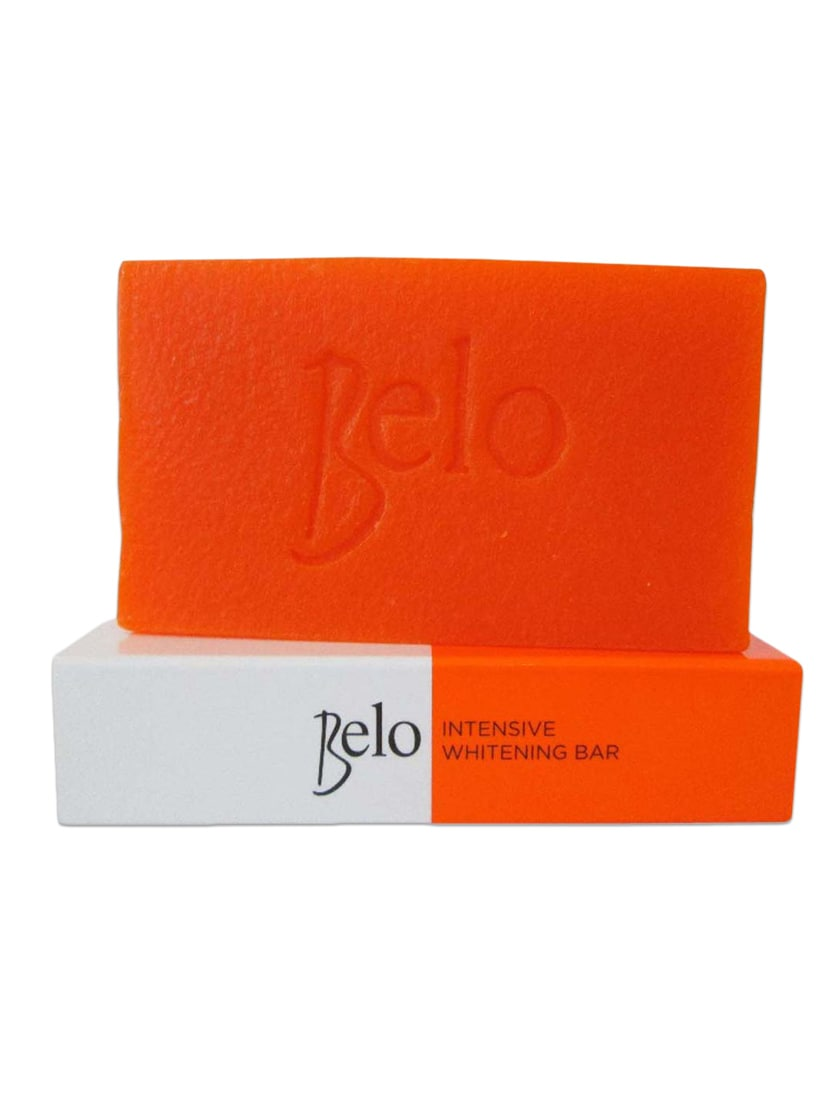 Orange Color, Intensive Whitening Herbal Soap With Kojic And Tranexamic Acid With Natural Extracts - By