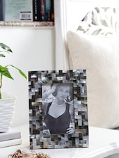 Multi Sea Shell And Wood Photo Frame - By