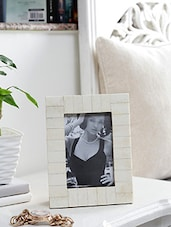 Multi MDF And Horn And Wood Photo Frame - By - 9813162