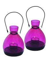 Mini Lantern - Pink Set Of 2 - The Yellow Door