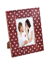 Bright Red Photo Frame: Large - The Yellow Door