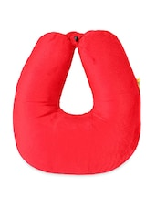 Microbeads Neck Pillow With Fleece - VIAGGI