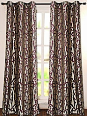 Printed Polyester Door Curtain - Deco Essential