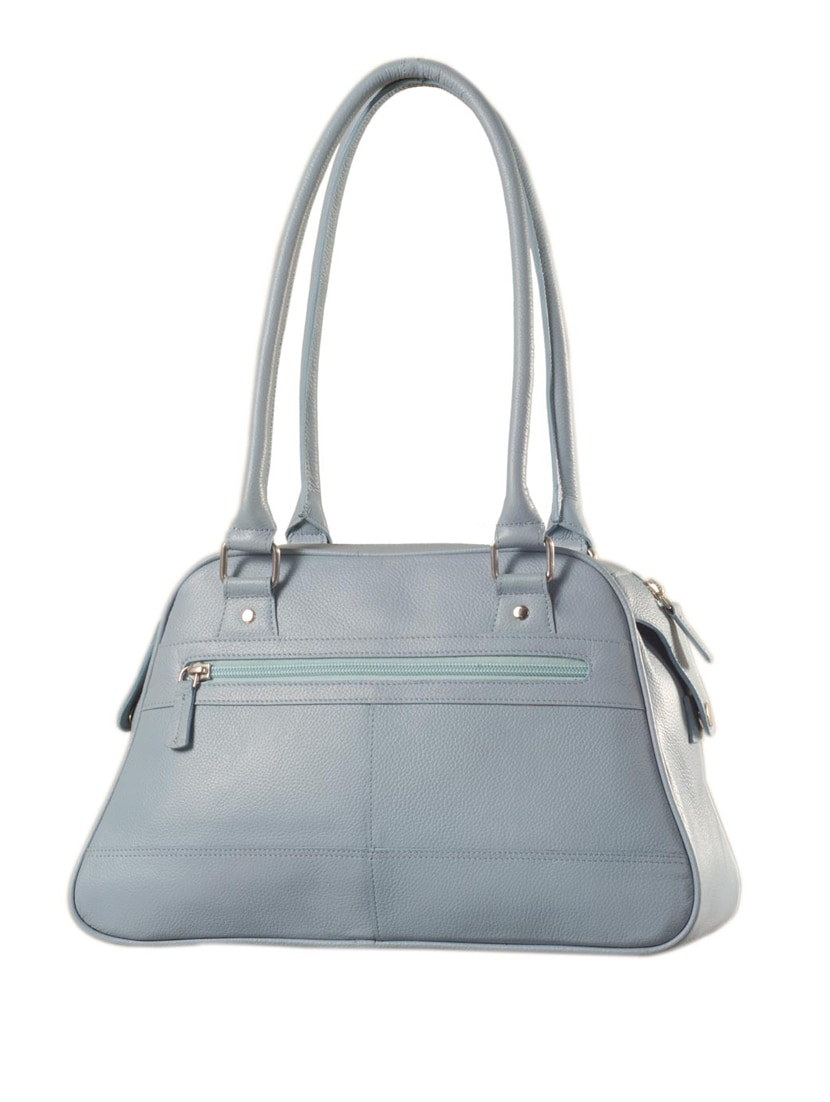 Buy Blue Leather Handbag by Ezeebags Maya Collection - Online shopping for  Handbags in India   9936914 7ed950f8ef