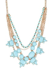 Silver Metal Alloy Necklace - YOUSHINE