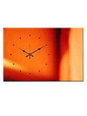 Peppy Orange Wall Clock - Design O Vista