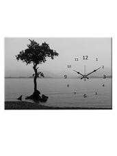 Grey Landscape Analog Wall Clock - Design O Vista
