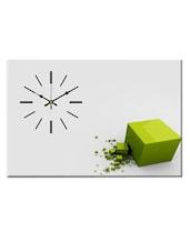 White Analog Wall Clock - Design O Vista