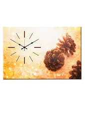 Multicoloured Printed Wall Clock - Design O Vista