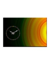 Artful Abstract Print Wall Clock - Design O Vista