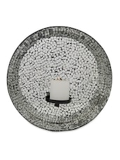 Mosaic Wall Candle Holder - The Yellow Door