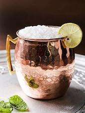 Copper Colour Copper Mug - By