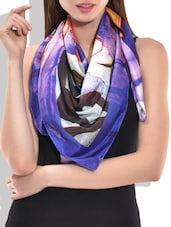 multi satin scarf -  online shopping for Scarves